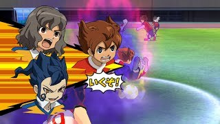 Inazuma Eleven Strikers Go 2013 Inazuma GO vs Team Ogre Wii Epic Hissatsus (hacks for Dolphin)