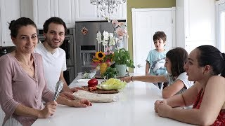 Casual Weekdays - Lunch or Dinner - Episode 3 - Heghineh Family Vlog - Heghineh Cooking Show
