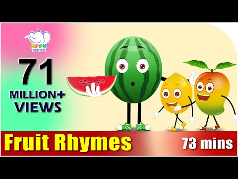 Fruit Rhymes Best Collection of Rhymes for Children in English