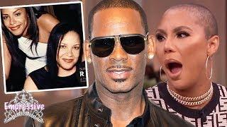 "Tamar Braxton goes in on ""Surviving R. Kelly""! | Aaliyah"