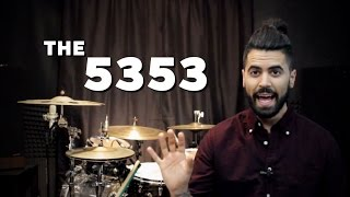 The Orlando Drummer: The 5353 (Grooving in 7/8)