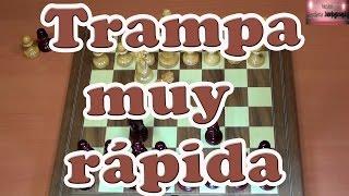 Curiosa partida | Trampa muy rápida de ajedrez