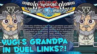 YUGI'S GRANDPA COMING TO DUEL LINKS?! [Solomon Muto in Yu-Gi-Oh! Duel Links] Duel Links Leaks