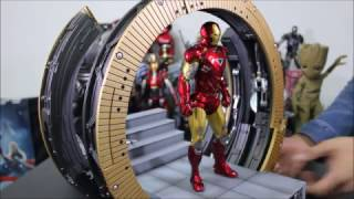 First Look ! 1/9 Iron Man Mark 6 X Moving Gantry [Avengers] by King Arts