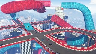 NEW BEST STUNT RACES IN THE GAME!? (GTA 5 Funny Moments)