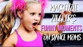 Mackenzie Ziegler's Funny Moments on Dance Moms