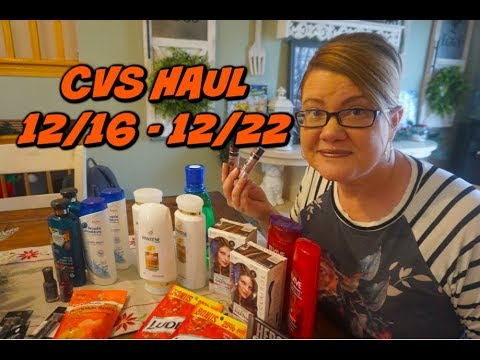 CVS HAUL 12/16 - 12/22 | MONEYMAKER HAIR CARE, MAKEUP & MORE!