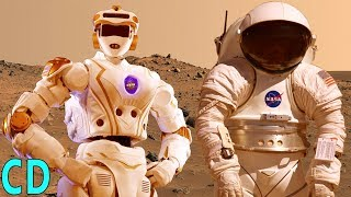 Robonauts or Men - Which Will Step Foot on Mars First ?