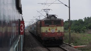 Coromondal Express Full Journey Compilation: Kolkata-Chennai Part II
