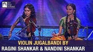 Violin Jugalbandi by Ragini Shankar & Nandini Shankar | Raag - Ahir Bhairav | Idea Jalsa