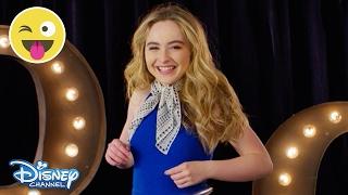 Hula Hoop Challenge | Sabrina Carpenter | Official Disney Channel UK
