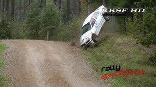 Rallijs Latvija - 2013 (crash, action, mistakes)