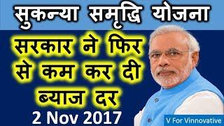 Sukanya Samriddhi Yojna: फिर से कम कर दी सरकार ने ब्याज दर। Private Bank vs Post Office vs Govt Bank