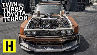 850HP Psycho Hilux Road Trips 10,000 Miles Just to Shred