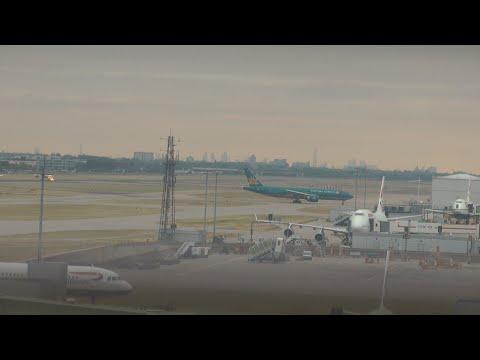 Heathrow ATC Live Video Terminal 5 British Airways