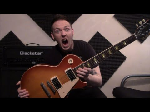 Gibson 1960's Les Paul Classic Reissue Review (Pickups 500t and 496r correction)