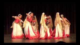 Ghoomar Rajasthani Folk Dance (Mera Assi Kali Ka) - Navarathri 2017