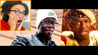 Reacting To KSI vs. Deji Diss Tracks!