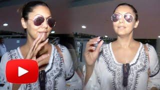 Shahrukh Khan's HOT Wife Gauri Khan Spotted At Mumbai Airport