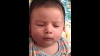 Funny baby Filippo