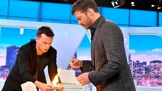 Magician Mat Franco Freaks Out Harry