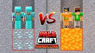 SO MANY DIAMONDS! | PalsCraft 3 - Hardcore Survival (Episode 8)