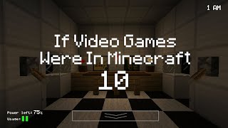 If Video Games Were In Minecraft 10 (ItsJerryAndHarry)