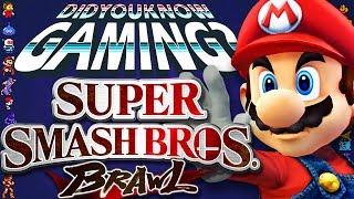 Super Smash Bros Brawl - Did You Know Gaming? Feat. Remix of WeeklyTubeShow