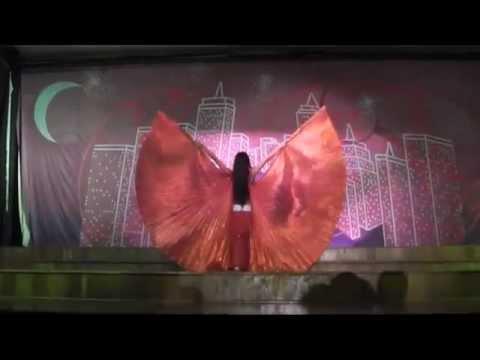 Marcela Garcia. Danza Arabe Alas de Isis Hotel Barcelo