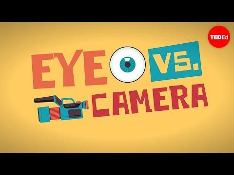 Eye vs. camera Michael Mauser
