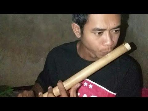 belajar seruling bambu #weni - engkaulah takdirku