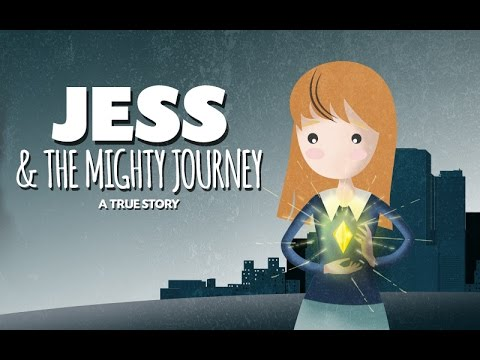 Jess & The Mighty Journey - A Short Animated Film Of Hope #talesofthe1in10