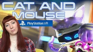 Cat And Mouse The Playroom VR PS4 Playstation VR Gameplay - Angry Cat!