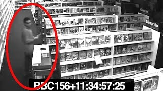 5 Terrifying Videos Of Ghosts Caught On CCTV