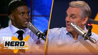 Reggie Bush joins Colin to talk Matthew Stafford, ref mistakes and Baker Mayfield | NFL | THE HERD