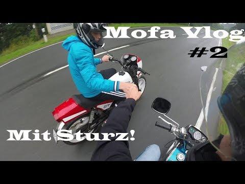 Mofa Unfall! | Mofa Vlog #2 | Mofatuning |Zündapp | Hercules | Puch