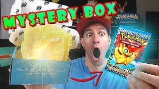 OPENING A POKEMON MYSTERY BOX WITH RARE VINTAGE CARDS AND PACKS!