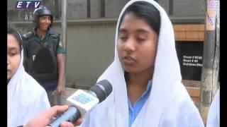 SSC Student Human chain at BNP Gulshan Office__Ekushey Television Ltd, 31,01,15