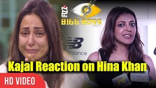 Kajal Agarwal Reaction On Hina Khan Comment On South Indian Actress | Bigg Boss 11 Controversy