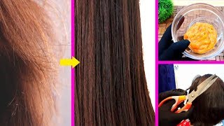 Get Rid of Hair Split Ends Treatment & Trimming Remedy at Home Urdu Hindi