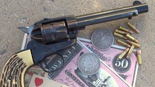 Ruger .22 Single Six  Flat Gate Revolver - Shooting This Rare Gun