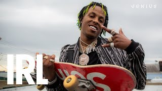 Rich The Kid Hits The Skatepark & Explains The Importance Of Being A CEO | IRL