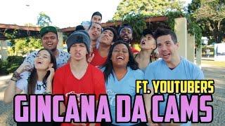 GINCANA DA CAMS - FT. YOUTUBERS (EP. 1)
