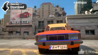 Peykan Iran GTA IV Mod