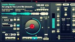 As Long as you love me - Justin Bieber (Virual DJ - Remix By BriveTech )