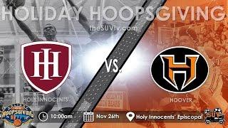 Holiday Hoopsgiving: Holy Innocents vs. Hoover (Girls)