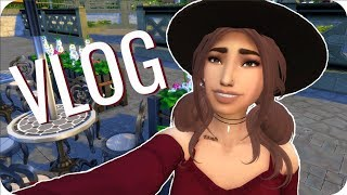 DAY IN THE LIFE OF A YOUTUBER (Vlog) | Sims 4 Machinima