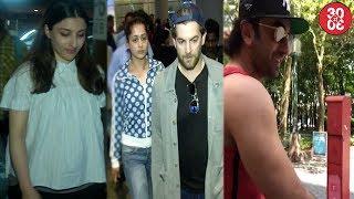 Soha Ali Khan,Huma & Neil Snapped At The Airport | Ranbir Gears Up For Sanjay Dutt Biopic