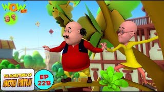 Motu Patlu Aur Kite Competition - Motu Patlu in Hindi WITH ENGLISH, SPANISH & FRENCH SUBTITLES