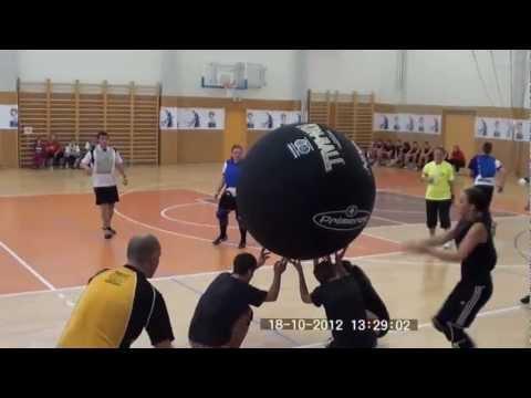 Kin ball Inter G Cup Hradec Králové 2012 finále